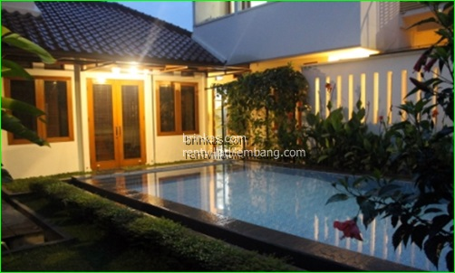 Villa 5 Kamar Private Pool Di Lembang